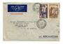 IVORY COAST 1938 Airmail Letter from Barber-West African Line Inc Grand-Bassam to Barber Steamship Lines Inc New York. Via  Aero