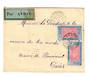 IVORY COAST 1937 Airmail Letter from Koroko to Paris. - 37648 - PostalHist
