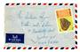 LEBANON 1969 Airmail Letter from Beyrouth to England. Left side damage. - 37655 - PostalHist