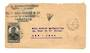 MADAGASCAR 1949 Airmail Letter from Tamatave to USA. Triangular T mark for short paid postage. - 37673 - PostalHist