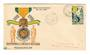 MADAGASCAR 1952 Centenary of the Milatary Medal on first day cover. - 37674 - FDC