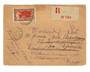 MADAGASCAR 1935 Registered Letter from Majunga to France. Readdressed. - 37684 - PostalHist