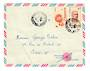 MADAGASCAR 1952 Airmail Letter from Tananarive to France. - 37693 - PostalHist