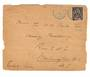 MADAGASCAR 1907 Front of Letter to USA. - 37696 - PostalHist