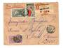 MADAGASCAR 1940 Registered Airmail Letter from Vohemar to USA. - 37699 - PostalHist
