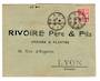 FRENCH MOROCCO 1909 Letter from Safi to France. - 37712 - PostalHist