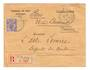FRENCH MOROCCO 1914 Registered Letter from D'Oudjda to Paris. - 37715 - PostalHist