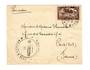 FRENCH MOROCCO 1927 Airmail Letter from Casablanca to Paris. Early airmail marking. - 37721 - PostalHist
