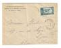 FRENCH MOROCCO 1924 Official Letter from Rabat Residence to Lyon. - 37724 - PostalHist