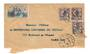 FRENCH MOROCCO 1922 Airmail Letter from Casablanca to Paris. Early airmail label. - 37725 - PostalHist
