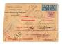 FRENCH MOROCCO 1921 Registered Letter from Casablanca to France. Redirected more than once. - 37726 - PostalHist