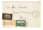 FRENCH MOROCCO 1938 Registered Letter from Tanger Petit to Paris. - 37729 - PostalHist
