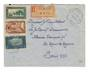 FRENCH MOROCCO 1935 Registered Letter from Demnat to Paris. - 37732 - PostalHist