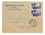 FRENCH MOROCCO 1949 Letter from Ain-Es-Sebaa to Oued Zem. - 37744 - PostalHist