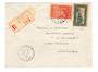 FRENCH MOROCCO 1948 Registered Letter from Midelt to Paris. - 37749 - PostalHist