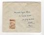 FRENCH MOROCCO 1945 Letter to France. Cachet top right. - 37756 - PostalHist