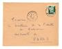 FRENCH MOROCCO 1955 Letter from Tounfite to Paris. - 37761 - PostalHist