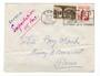 FRENCH MOROCCO 1956 Letter from Safe to Paris. Expres. Receiving stamp Paris Gare. - 37765 - PostalHist