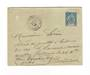 MARTINIQUE 1895 Postal Stationery 15c Blue sent from Saint Pierre to Bordeaux in Decemver 1898. - 37770 - PostalHist