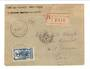 MARTINIQUE 1927 Registered Letter from Fort de France to Loire France. - 37777 - PostalHist