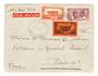 MARTINIQUE 1938 Airmail Letter from Fort de France via New York to France. - 37781 - PostalHist