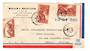 MARTINIQUE 1949 Airmail Letter from Fort de France to USA. . - 37791 - PostalHist