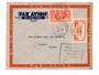 MARTINIQUE 1940 Airmail Letter from Fort de France to Canada. Two interesting cachets. - 37795 - PostalHist