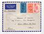 MARTINIQUE 1946 Airmail Letter from Fort de France via Transatlantique to France. Postal control cachet. - 37796 - PostalHist