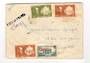 MARTINIQUE 1947 Airmail Letter from Fort de France to Paris. Relief cancel. - 37798 - PostalHist