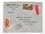 MARTINIQUE 194? Airmail Letter from Fort de France to USA. The year slug is deliberately blacked out. - 37802 - PostalHist