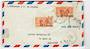MARTINIQUE 1947 Airmail Letter from Fort de France to USA. - 37803 - PostalHist