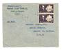 MARTINIQUE 194? Airmail Letter from Fort de France to USA. - 37805 - PostalHist