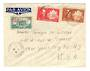 MARTINIQUE 1942 Airmail Letter from Fort de France to New York. Missent to Washington. - 37807 - PostalHist