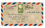 MARTINIQUE 1947 Airmail Letter from Fort de France to New York via Miami. - 37812 - PostalHist