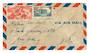 MARTINIQUE 1947 Airmail Letter from Fort de France to New York. - 37813 - PostalHist