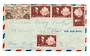 MARTINIQUE 1946 Airmail Letter from Fort de France to New York. - 37816 - PostalHist