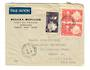 MARTINIQUE 1949 Airmail Letter from Fort de France to Detroit. - 37822 - PostalHist