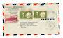 MARTINIQUE 194? Airmail Letter from Fort de France to Detroit. - 37823 - PostalHist