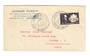 MARTINIQUE 1947 Letter from Fort de France to Canada. Stamp Day Special Postmark. - 37826 - PostalHist