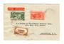 MARTINIQUE 1937 Airmail Letter from Fort de France to Louisville Kentucky. - 37830 - PostalHist