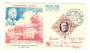 MONACO 1956 Fipex International Stamp Exhibition. President Roosevelt on first day cover. - 37843 - FDC