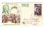 MONACO 1956 Fipex International Stamp Exhibition. George Washington on first day cover. - 37844 - FDC