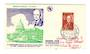 MONACO 1956 Fipex International Stamp Exhibition. Eisenhower on first day cover. - 37848 - FDC