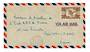 NEW CALEDONIA 1948 Airmail Letter from Noumea to Paris. - 37869 - PostalHist