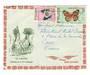 NEW CALEDONIA 1969 Airmail Letter from Noumea to Paris. - 37870 - PostalHist