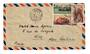 NEW CALEDONIA 1948 Airmail Letter from Noumea to Nice. - 37877 - PostalHist