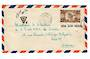 NEW CALEDONIA 1948 Airmail Letter from Noumea to Paris. Triangular T postage due mark. - 37878 - PostalHist
