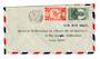 NEW CALEDONIA 1947 Airmail Letter from Noumea to Paris. Trimmed. - 37880 - PostalHist