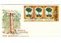 NEW HEBRIDES 1969 Timber Industry on first day cover. - 37888 - FDC