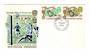 NOUVELLES HEBRIDES 1966 World Cup. Set of 2 on first day cover. - 37891 - FDC